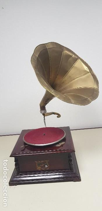 419- GRAMOFONO LA VOZ DE SU AMO (Radios, Gramófonos, Grabadoras y Otros - Gramófonos y Gramolas)
