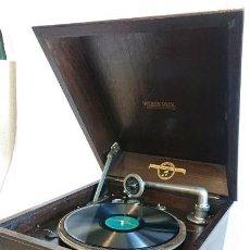 Gramófonos y gramolas: ESPECTACULAR GRAMÓFONO COLUMBIA MADE IN ENGLAND FUNCIONA PERFECTAMENTE. Lote 155611798