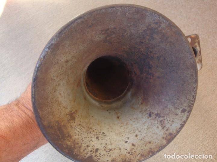 Gramófonos y gramolas: TROMPA DE FONOGRAFO - Foto 3 - 159144874