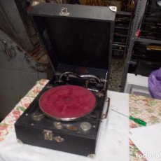 Gramófonos y gramolas: GRAMOFONO PATHE FUNCIONANDO. Lote 159665806