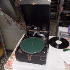 Gramófonos y gramolas: GRAMOLA EINSELEN FUNCIONANDO. Lote 159666342