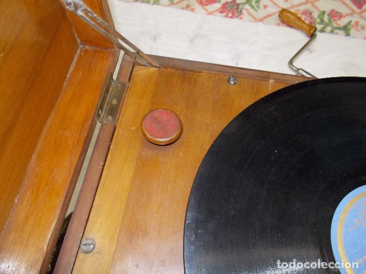 Gramófonos y gramolas: Gramola Funcionando - Foto 7 - 159667362