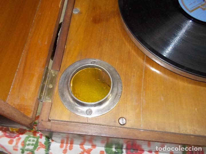 Gramófonos y gramolas: Gramola Funcionando - Foto 8 - 159667362