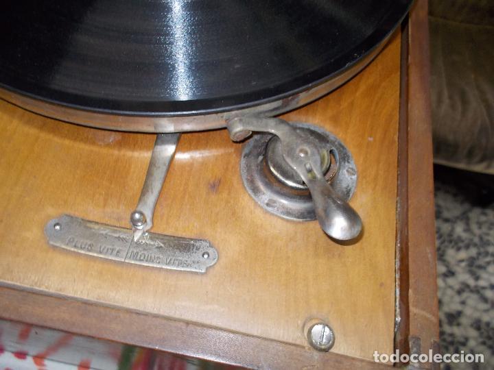 Gramófonos y gramolas: Gramola Funcionando - Foto 9 - 159667362