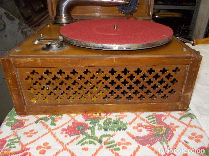 Gramófonos y gramolas: Gramola Funcionando - Foto 10 - 159667362