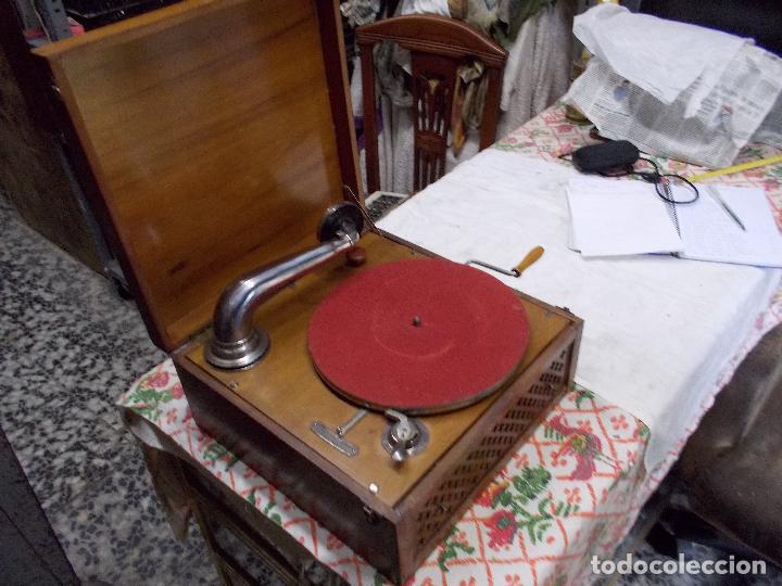 Gramófonos y gramolas: Gramola Funcionando - Foto 11 - 159667362