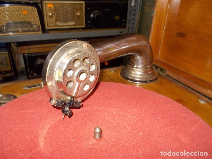 Gramófonos y gramolas: Gramola Funcionando - Foto 13 - 159667362