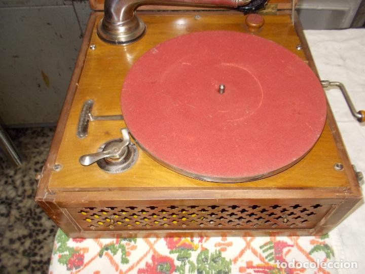Gramófonos y gramolas: Gramola Funcionando - Foto 14 - 159667362