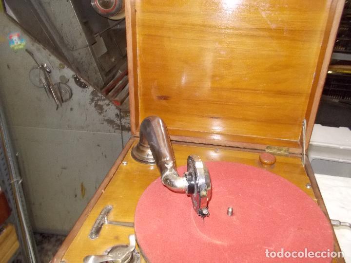 Gramófonos y gramolas: Gramola Funcionando - Foto 16 - 159667362