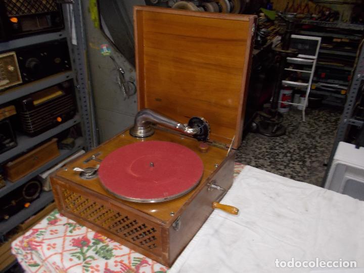 Gramófonos y gramolas: Gramola Funcionando - Foto 17 - 159667362
