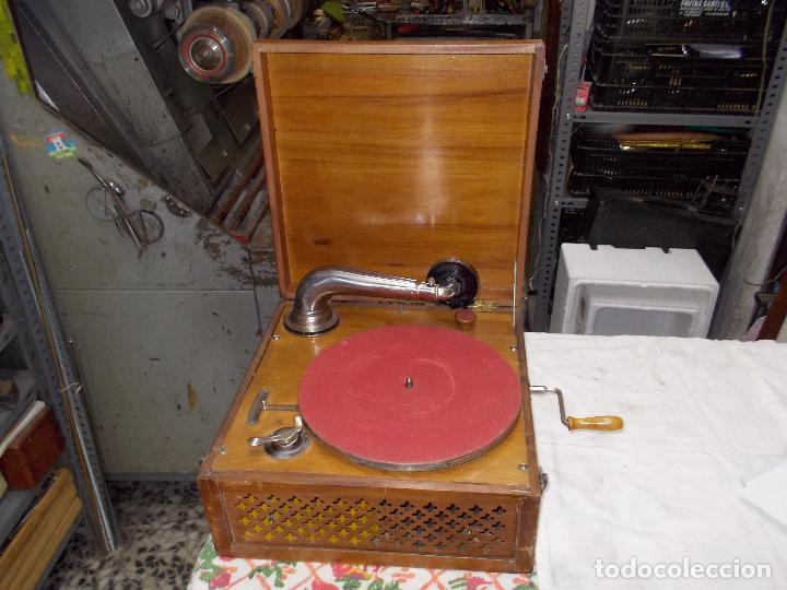 Gramófonos y gramolas: Gramola Funcionando - Foto 18 - 159667362