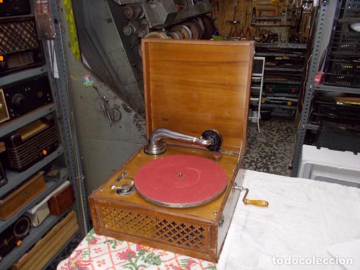 Gramófonos y gramolas: Gramola Funcionando - Foto 19 - 159667362