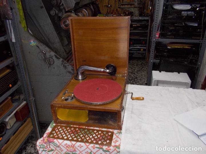 Gramófonos y gramolas: Gramola Funcionando - Foto 20 - 159667362