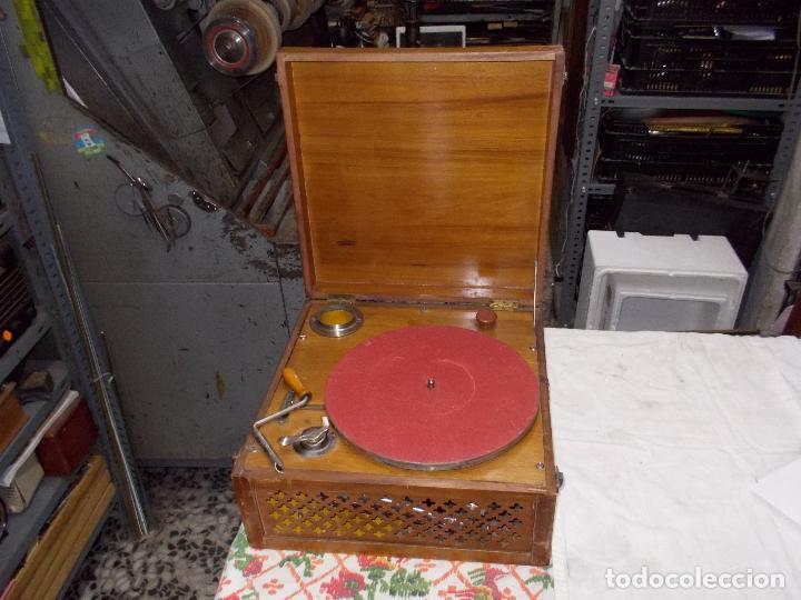 Gramófonos y gramolas: Gramola Funcionando - Foto 21 - 159667362