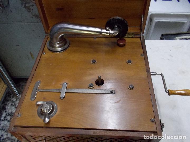 Gramófonos y gramolas: Gramola Funcionando - Foto 22 - 159667362