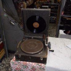 Gramófonos y gramolas: GRAMOLA PATHE FUNCIONANDO. Lote 162779042