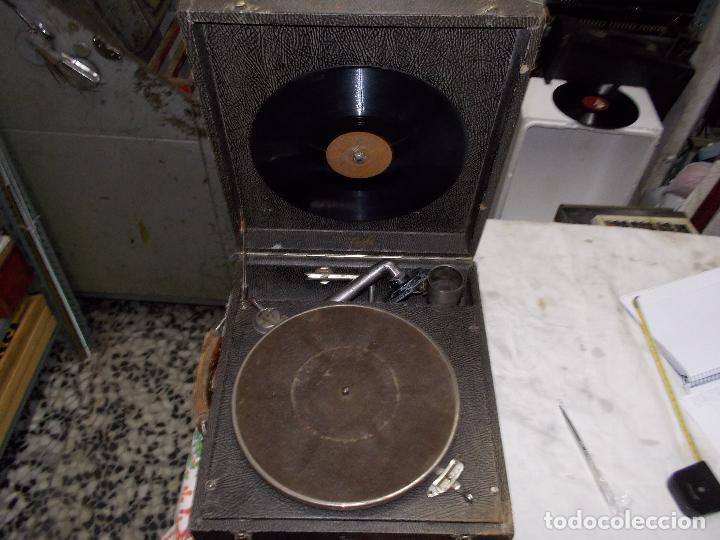 Gramófonos y gramolas: gramola pathe funcionando - Foto 8 - 162779042