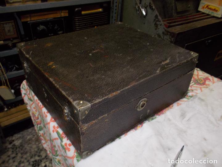 Gramófonos y gramolas: gramola pathe funcionando - Foto 21 - 162779042