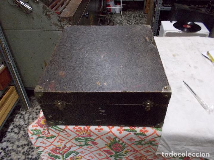 Gramófonos y gramolas: gramola pathe funcionando - Foto 22 - 162779042