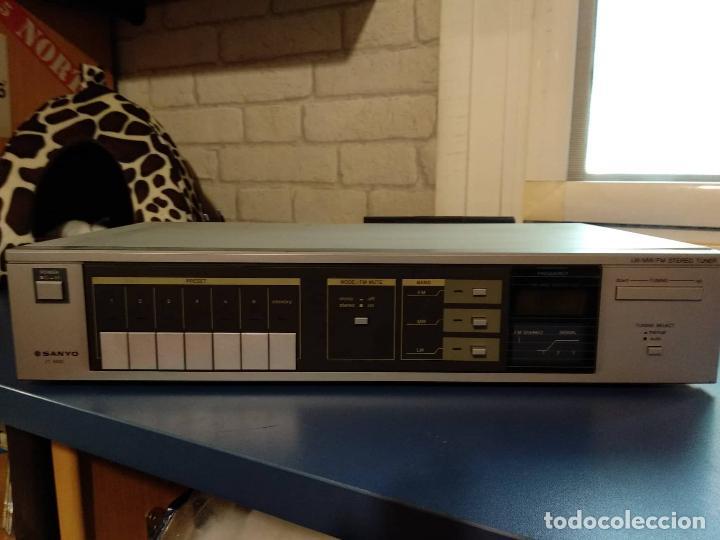 SINTONIZADOR SANYO JT 350L (Radios, Gramófonos, Grabadoras y Otros - Gramófonos y Gramolas)