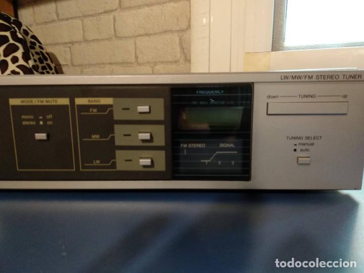 Gramófonos y gramolas: SINTONIZADOR SANYO JT 350L - Foto 2 - 163378230