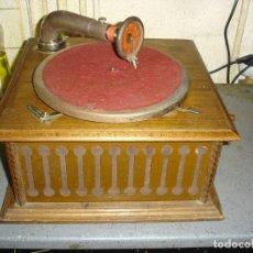 Gramofones e jukeboxes: BONITO GRAMOPHONO PATHE TODO ORIGINAL ESTADO DE MARCHA VER FOTOS. Lote 163544942