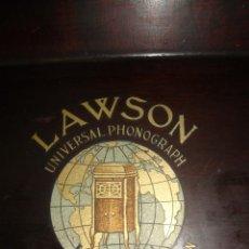 Gramófonos y gramolas: TAPA DE GRAMOFONO. Lote 163944942