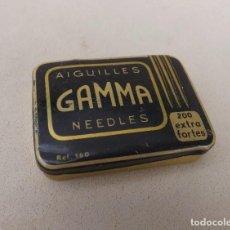 Gramófonos y gramolas: CAJITA DE AGUJAS PARA GRAMÓFONO GAMMA REF 160. Lote 165249714
