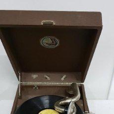 Gramófonos y gramolas: GRAMOLA LA VOZ DE SU AMO . Lote 165530726