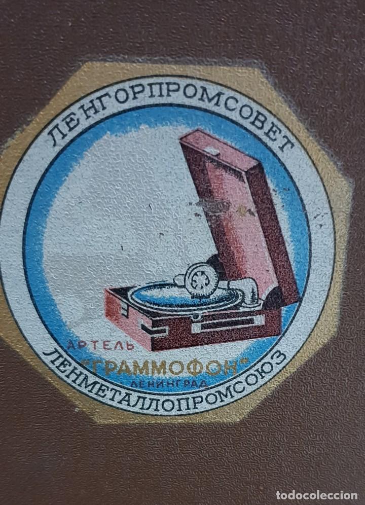 Gramófonos y gramolas: GRAMOLA soviética - Foto 4 - 165530726