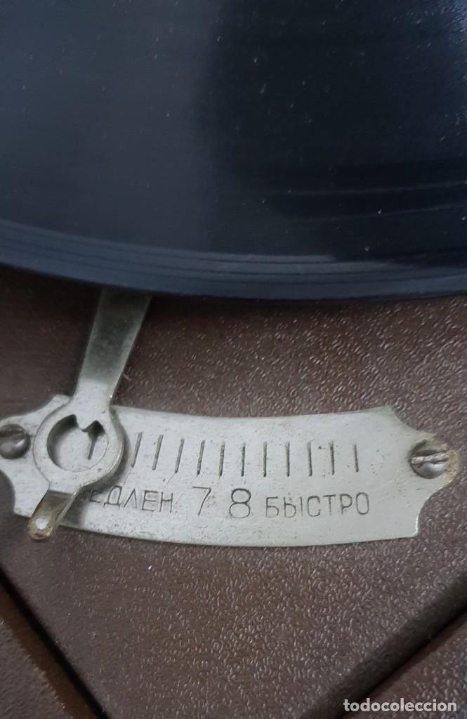 Gramófonos y gramolas: GRAMOLA soviética - Foto 8 - 165530726