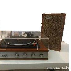 Gramófonos y gramolas: TOCADISCOS KONIGER, CON ALTAVOCES, AÑO 60, FUNCIONANDO. Lote 167183052