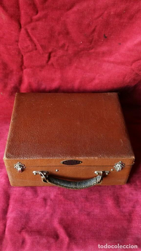 Gramófonos y gramolas: GRAMOFONO RADIOLA, VER FOTOS Y VIDEO - Foto 6 - 167929192