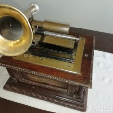 Gramófonos y gramolas: GRAMOFONO DE CILINDRO. 1894. THE HOME GRAND GRAPHOPHONE. COLUMBIA. ADMITO OFERTAS.. Lote 168094468