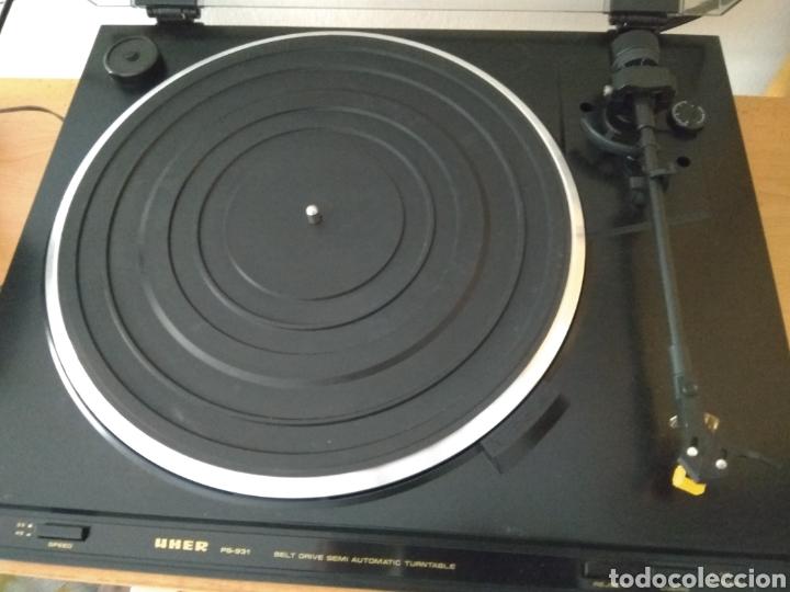 Gramófonos y gramolas: Tocadiscos UHER PS 931 - Foto 2 - 170736783
