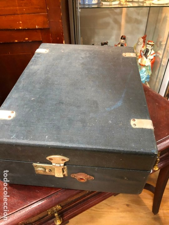 Gramófonos y gramolas: MAGNIFICA GRAMOFONO MALETIN FUNCIONANDO PERFECTAMENTE - Foto 2 - 172530823