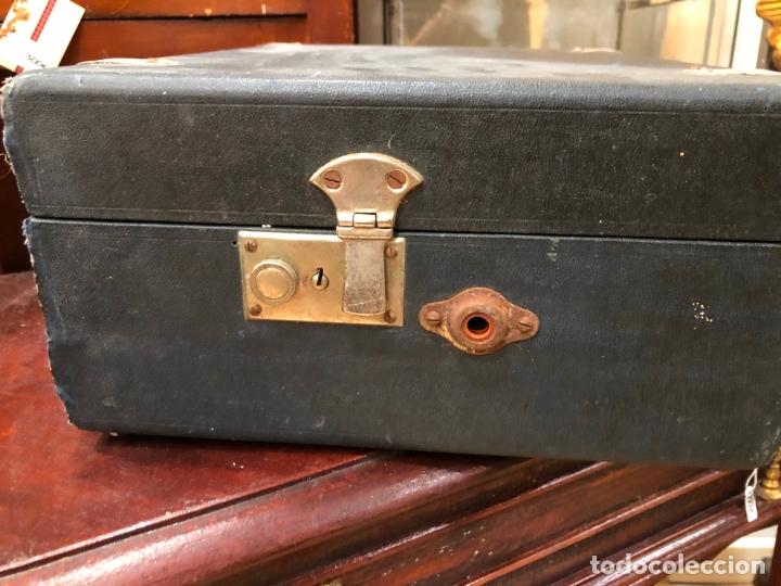 Gramófonos y gramolas: MAGNIFICA GRAMOFONO MALETIN FUNCIONANDO PERFECTAMENTE - Foto 3 - 172530823