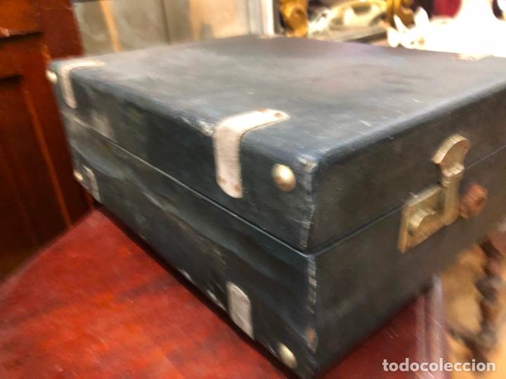 Gramófonos y gramolas: MAGNIFICA GRAMOFONO MALETIN FUNCIONANDO PERFECTAMENTE - Foto 8 - 172530823