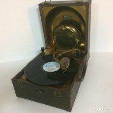 Gramófonos y gramolas: GRAMOLA DE MALETA DECCA. Lote 173671408
