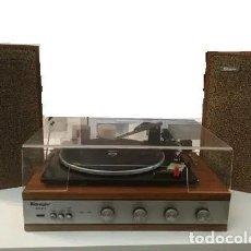 Gramófonos y gramolas: TOCADISCOS KONIGER, CON ALTAVOCES, AÑO 60, FUNCIONANDO. Lote 175473713
