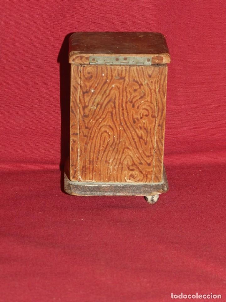 Gramófonos y gramolas: (M) GRAMOFONO EN MINIATURA DE MADERO PRICNIPIOS AÑOS 20, GRAMOFONO ARTE POPULAR - Foto 5 - 175688809