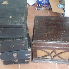 Gramófonos y gramolas: 5 GRAMOS DE VARIAS MARCAS. Lote 175907685