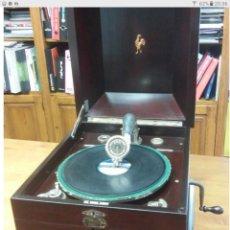 Gramófonos y gramolas: GRAMÓFONO EN PERFECTISIMO ESTADO,COMPLETO Y FUNCIONANDO FOTOS Y VIDEO DE FUNCIONAMIENTO.. Lote 175939680