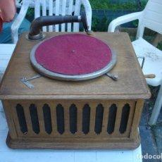 Gramófonos y gramolas: PRECIOSO GRAMOPHONO PATHE NUIT ET JOUR TODO ORIGINAL VER FOTOS Y COMENTARIO. Lote 176155233