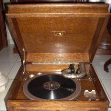Gramófonos y gramolas: GRAMOLA LA VOZ DE SU AMO ,FUNCIONANDO BIEN. Lote 176505712