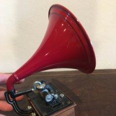 Gramófonos y gramolas: GRAMOPHONE 1907 REALIZADO POR MANUEL OLIVE COLUMBIA TOWN. Lote 176561292