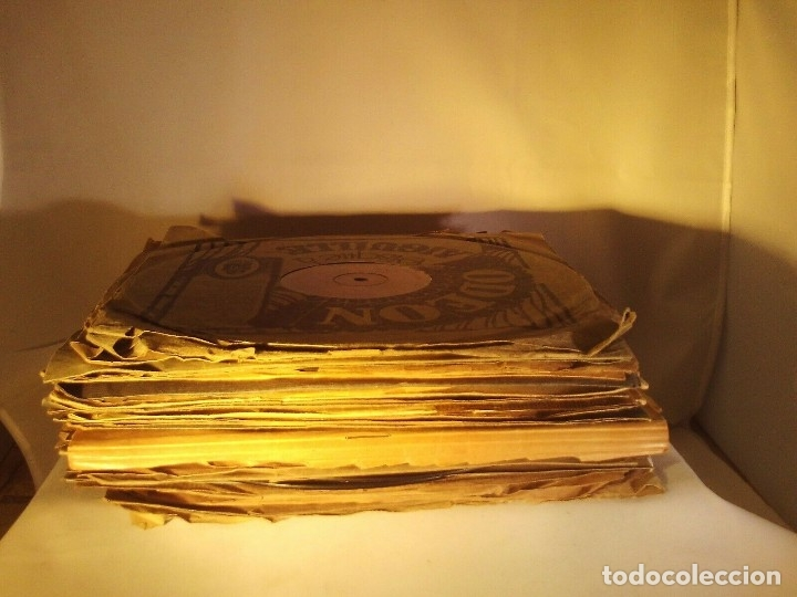 GRAN LOTE DE 20 DISCOS DE PIZARRA DE 25 CM PARA GRAMOFONO- AÑOS 20-LOTE 1: DIVERSOS ESTILOS (Radios, Gramófonos, Grabadoras y Otros - Gramófonos y Gramolas)