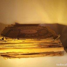 Gramófonos y gramolas: GRAN LOTE DE 20 DISCOS DE PIZARRA DE 25 CM PARA GRAMOFONO- AÑOS 20-LOTE 1: DIVERSOS ESTILOS. Lote 176624669