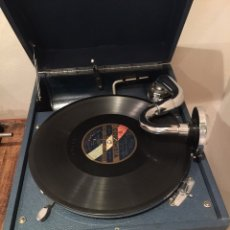 Gramófonos y gramolas: GRAMOFONO PORTATIL COLUMBIA. Lote 176754814
