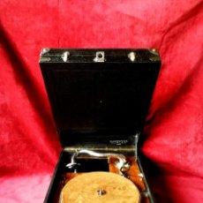 Gramófonos y gramolas: GRAMOFONO CLASSOVOX DUPLEX, EXCELENTE Y MUY CURIOSO, VER DESCRIPCION Y VIDEO. Lote 176903927
